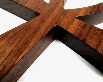Ankh Cross / MID SIZE / Egyptian Symbol / Life / Walnut Wood
