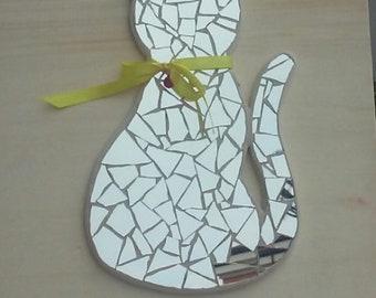 Mosaic cat Katze Chat Gift Mosaique