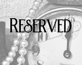 RESERVED-Wedding Table Number Tag set of 15 Tea Stained Look