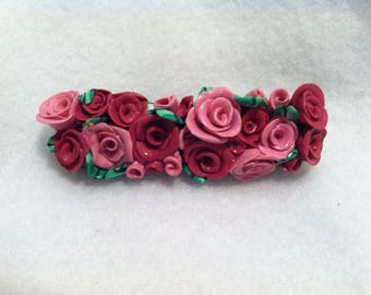 Bouquet Of Roses Hair Pin - Bobby Pin