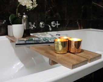 Bath Caddy - Bathroom - Bath Tray - Bathtub Caddy  - Bathroom Accessories - Bathroom Decor - Australia - Housewarming Gift - Bath