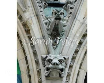 Gargoyle - Digital download photography - Montreal photography - JPEG - Photography by Sarah