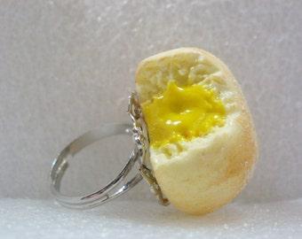 Bitten Custard Doughnut Ring.