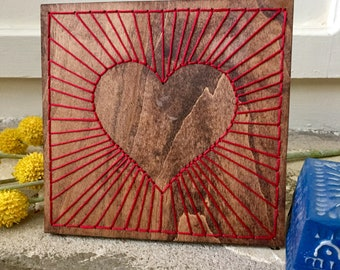 Expansive Heart Wall hanging