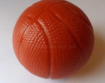 Basketball Soap, Round 3D Soap, Sports Soap, Novelty Soap, Bath Soap, You pick scent & color
