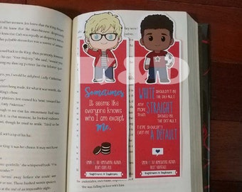 Emails and Oreos Regular Bookmark