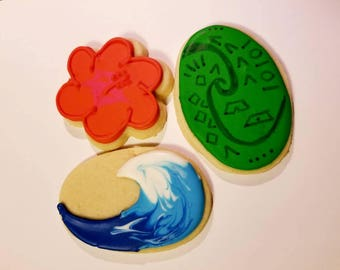 Moana inspiré Cookies (3 douzaines)