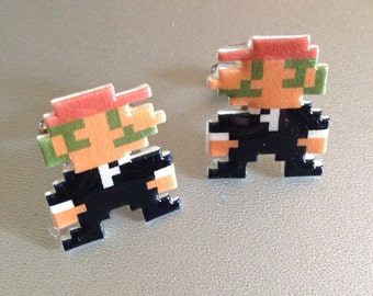 It's-a me - groom mario wedding cufflinks