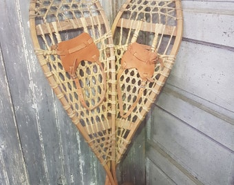 Original Wooden Snow Shoes