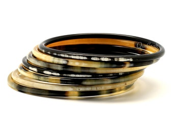 Horn Bangle Bracelets - Q9258