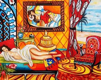 Art Print, Henri Matisse Print, Matisse Wall Art Print, Matisse Art, Fine Art Print, Home Decor, Art Poster