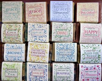 Designer Fragrance Handmade Goat's Milk Soap