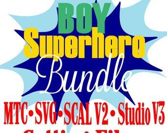 SVG Cut File Super Hero GIRL Bundle Saying Quote  MtC SCAL v2 Silhouette Cricut Cutting Files