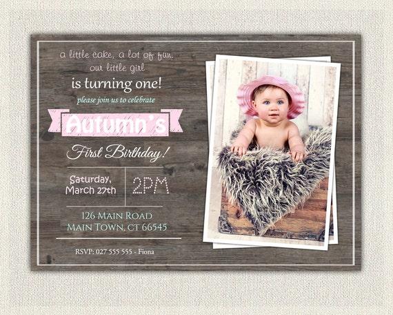 Vintage rustic birthday invite 1st birthday invitation aqua filmwisefo
