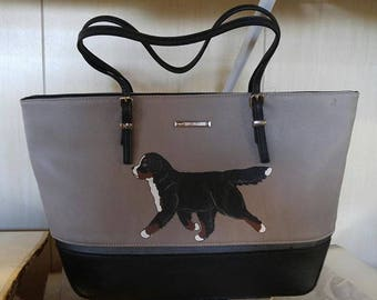 Nine West Gray Tote with Berner
