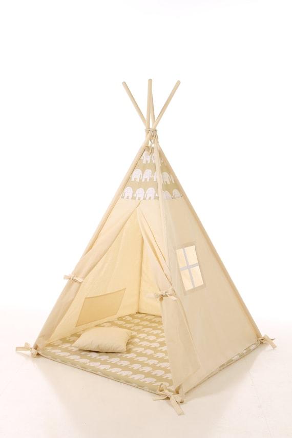 kinderen tipi spelen wigwam tent kinder tipi playtent tipi. Black Bedroom Furniture Sets. Home Design Ideas