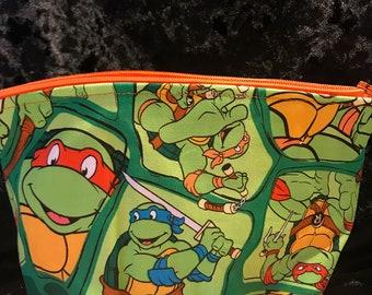 Teenage Mutant Ninja Turtles make up bags
