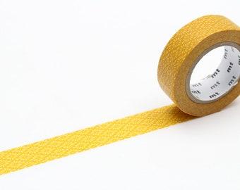 MT washi tape, chrysanthemum yellow, 15 mm