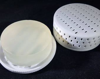 Soap Dryer for pre-shave soaps and shampoo bars