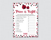 Ladybug Baby Shower Price...