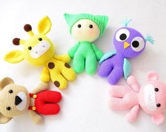 Amigurumi For Dummies Book : Amigurumi pattern. 35 crochet play food patterns. crochet