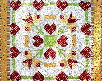 Heat's Delight quilt pattern