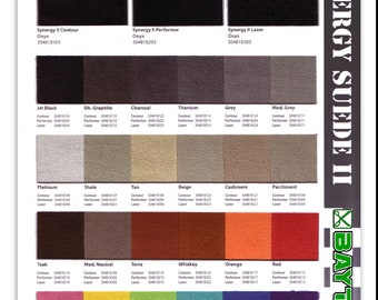 """SYNERGY PERFORMER II Suede Fabric 60"""" wide.  Sold per yard."""