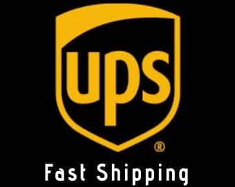 UPGRATE your shipping   UPS courier all over the world