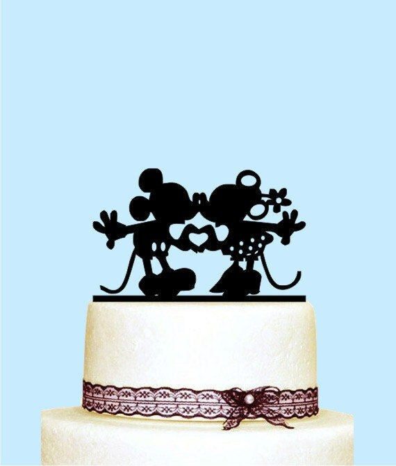 Mickey and Minnie Cake Topper Disney Cake Topper Mickey and