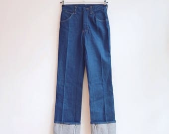 Vintage deadstock wrangler jeans denim pants XS