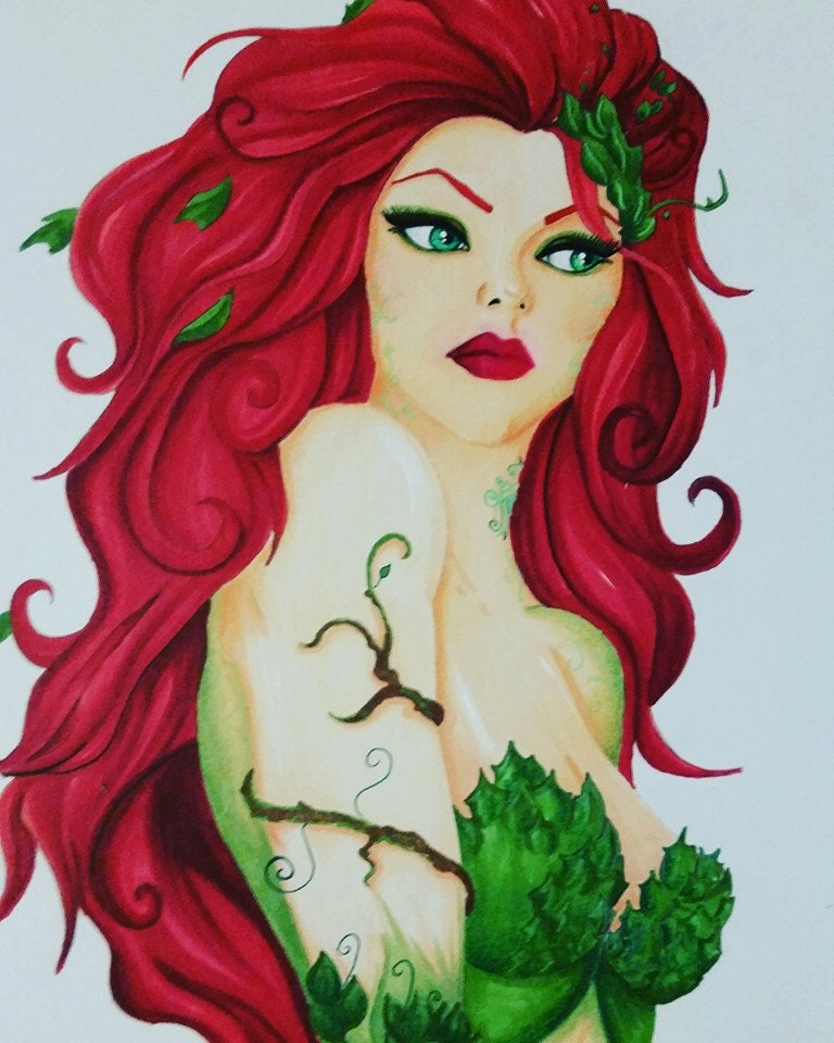 It is a photo of Striking Ivy Xname Drawing
