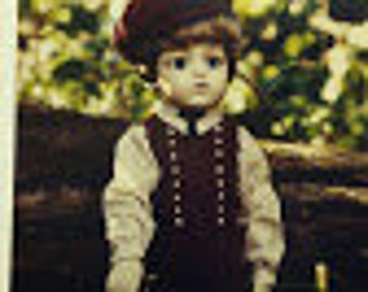 Boy Doll Clothing Pattern, BS 265, 266, and 272