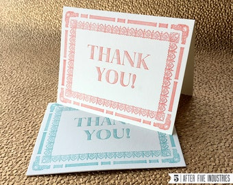 Thank You Ornamental Cards