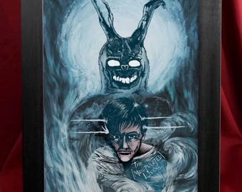 Cult Favorites Art Print Collection - A4 or A3 Print Size - Donnie Darko, Hellraiser, Death, Spike, The Crow