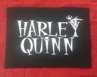 Harley Quinn logo cloth patch
