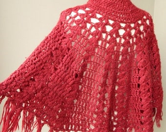 50% On May Vintage Knit Shawl Shoulder Cover Up