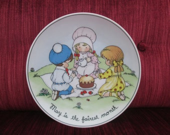 Joan Walsh Anglund Collectible Plate/May Is The Fairest Month/1978  #18044