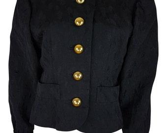 YVES SAINT LAURENT Brocade Jacket (38)