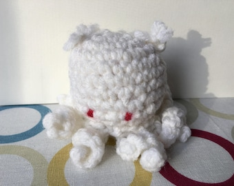 Crochet Octopus with Bows