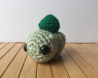 Ditzy Pokemon Starters - Bulbasaur Pokemon Amigurumi - Cute Bulbasaur Doll