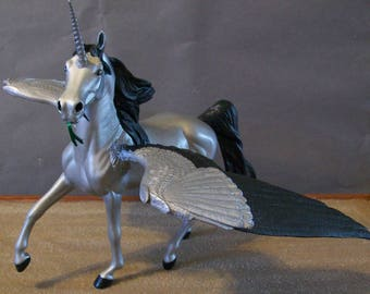 Classic Scale OOAK Pegasus or Winged Unicorn