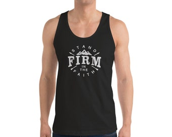 Men's Stand Firm in the Faith Tank Top