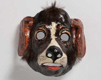 Dog paper mask