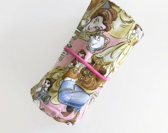 Beauty and Beast Crayon Roll