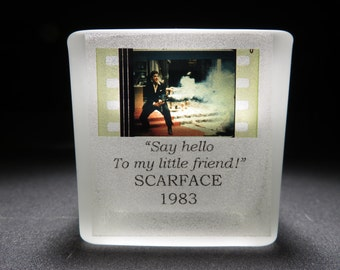 Al Pacino - SCARFACE - Film Cell - Glass Votive