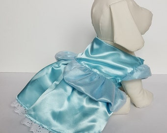 Dog Cinderella Costume, Cinderella Dog Halloween Costume, Pet Cinderella Costume, Cinderella Puppy Costume, Cinderella Pet Costume