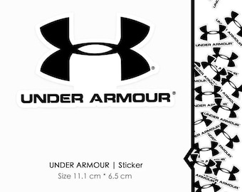 Macbook Decal Under Armour Stickers Under Armour Logo Stickers