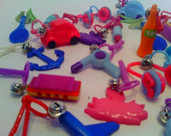 Lot of 24 Bell Charms/ Zipper Pulls ( cute gift for a girl! )
