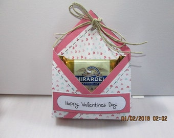 Valentine Printable Treat Boxes with optional Love Note Scriptures