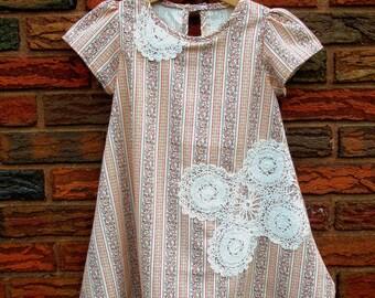 20% OFF SALE....Vintage Doily Oversized Dress